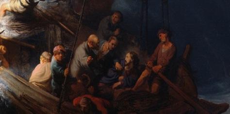 Rembrandt, detail